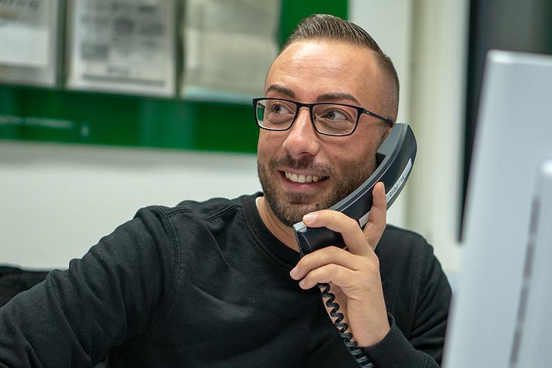 Fabio Altamore at work