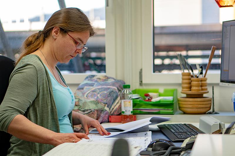 Manuela Lipp at work